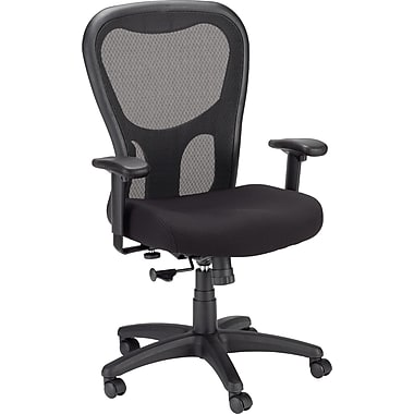 Tempur-Pedic TP9000 Polyester Computer and Desk Office Chair, Black, (TP9000-BLK)