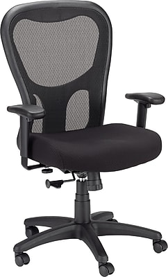 ... Mesh Mid Back Office Chair, Black (TP9000). Rollover Image To Zoom In.  Https://www.staples 3p.com/s7/is/
