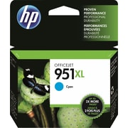 HP 951XL Ink Cartridge, Cyan (CN046AN)