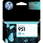 HP 951 Ink Cartridge, Cyan (CN050AN)