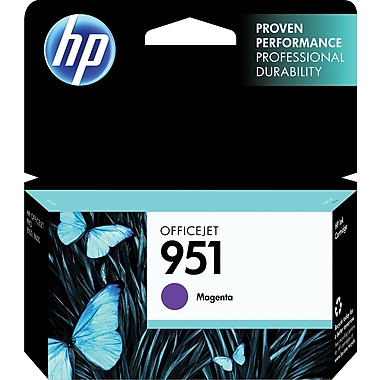 HP 951 Ink Cartridge, Magenta (CN051AN)