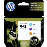 HP 951 Color Ink Cartridges, C/M/Y, Combo Pack (CR314FN)