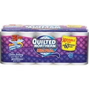 Quilted Northern Ultra Plush Bathroom Tissue, 3-Ply, 30 Rolls/Case