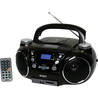 Jensen CD-750 Portable AM/FM Stereo CD Player with MP3 Encoder/Player