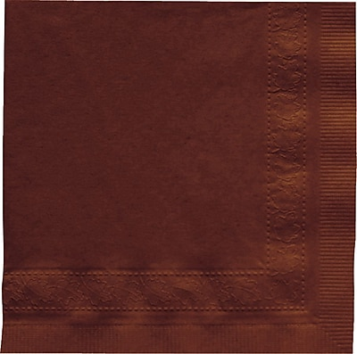 Hoffmaster Beverage Napkin, Chocolate