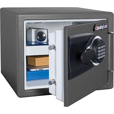 sentry safe 8 cu ft firewater electronic security safe