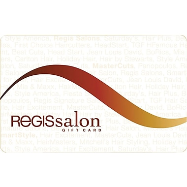 Regis Salon Gift Card $100
