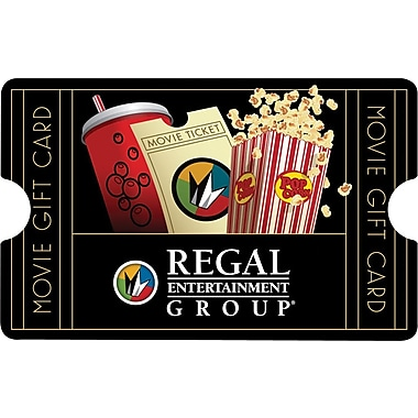 Regal Entertainment Gift Card $50