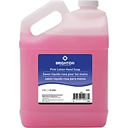 Brighton Professional™ Pink Lotion Hand Soap, Light Floral, 1 Gallon, 4/Ct (18497CT)
