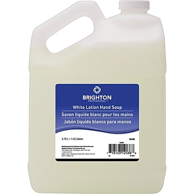 Brighton Professional™ White Lotion Hand Soap, 1 gal.