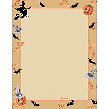Great Papers® Holiday Stationery Halloween Harvest , 80/Count