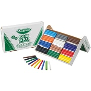 Crayola® 68-8120 Woodless Color Pencil, Assorted, 120/Pack