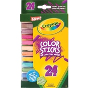 Binney & Smith Crayola® Color Sticks, 24/Ct