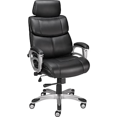 Staples® Poynter Manager's Chair with Adjustable Arms, Black