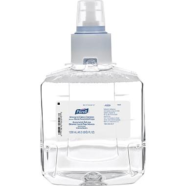 Purell® LTX™ Advanced Green Certified Hand Sanitizer, Refill, 1,200 ml., 2/Case