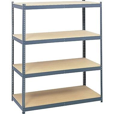 Safco® Archival Shelving, Steel Frame Pack