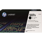 HP 507X Black Toner Cartridge (CE400X), High Yield