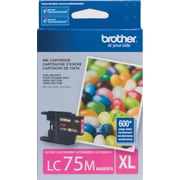 Brother LC75 Magenta Ink Cartridge, High Yield (LC75MS)