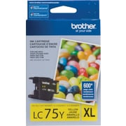 Brother LC75 Yellow Ink Cartridge, High Yield (LC75YS)