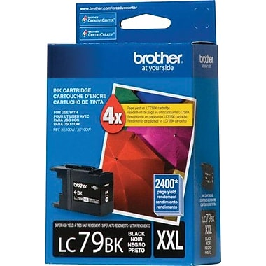 Brother LC79 Black Ink Cartridge, Super High Yield (LC79BKS)