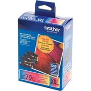 Brother LC79 Colour Ink Cartridges Combo Pack, Super High Yield (LC793PKS)