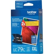 Brother LC79 Cyan Ink Cartridge, Super High Yield (LC79CS)
