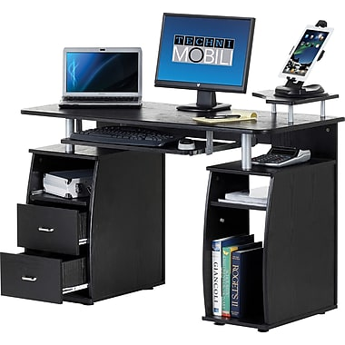 Techni Mobili Multi Function Computer Desk  Espresso. Computer Desks   Corner Desks   Office Desks   Staples