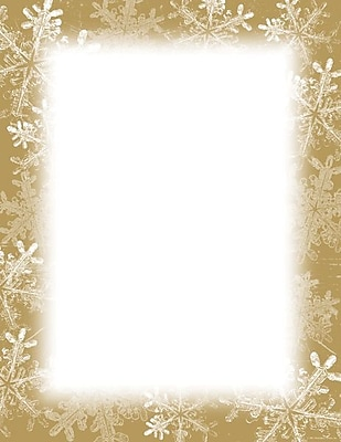 Great Papers Holiday Stationery Frosted Holiday Wishes , 250/Count 401042