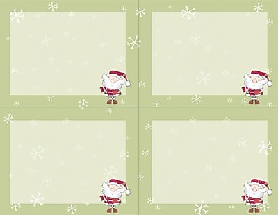 Great Papers® Holiday Invitations Merry Christmas Santa , MultiPack