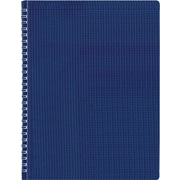 "Blueline Duraflex Poly Business Notebook, Blue, Durable and Flexible Textured Cover, 160 Pages / 80 Sheets, 11"" x 8-1/2"""