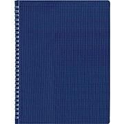 "Rediform Twin Wirebound Poly Cover Notebook, 11"" x 8 1/2"", Blue (B41.82)"