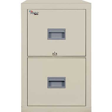 FireKing 2 Drawer Vertical File Cabinet, Letter/Legal, Includes White Glove Delivery (2P1825CPAI)