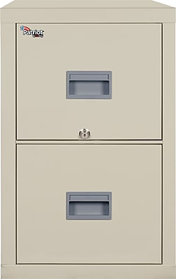 FireKing 2 Drawer Vertical File Cabinet, Letter/Legal (2P1825CPAI)
