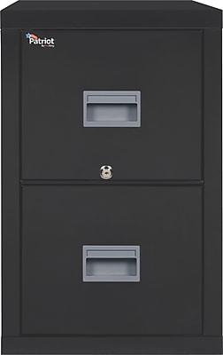 FireKing 2 Drawer Vertical File Cabinet, Letter (2P1831CBLI) 356371