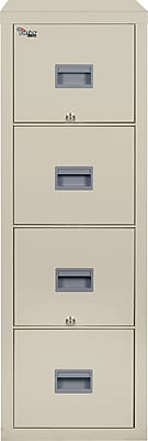 FireKing 4 Drawer Vertical File Cabinet, Letter (4P1831CPA)