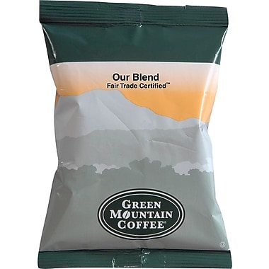 Green Mountain® Fair Trade Our Blend Ground Coffee, Regular, 2.2 oz., 100 Packets