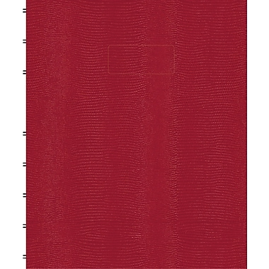 Blueline MiracleBind Business Notebook, Red Hard Cover, Pages Can Be Repositioned,150 Pages / 75 Sheets, 9-1/4