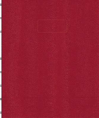 Blueline® MiracleBind™ Business Notebook, Red Hard Cover, Pages Can Be Repositioned, 150 Pages / 75 Sheets, 9-1/4