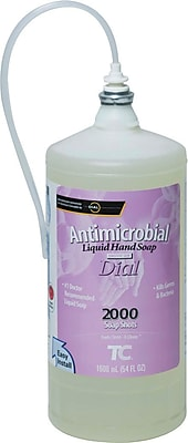 Technical Concepts One Shot® Refills Enriched Lotion Antibacterial Hand Wash, 1,600 ml, 4/Ct