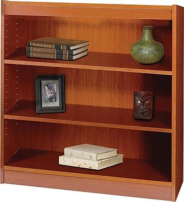 Safco Workspace 36'' 3-Shelf Bookcase, Cherry (1502CYC)