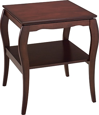 Office Star Products® Pro-Line II™ End Table, Mahogany, 24