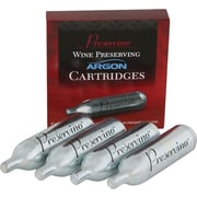 Preservino Argon Cartridges, 4/Pack
