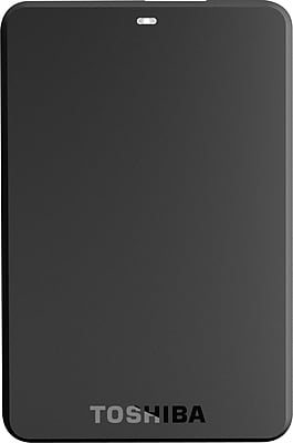 Toshiba Canvio Basics 1TB Portable USB 3.0 External Hard Drive, Black (HDTB210XK3BA)