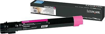 Lexmark C950 Magenta Toner Cartridge (C950X2MG), Extra High Yield