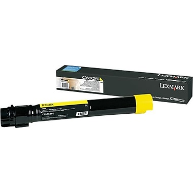 Lexmark C950 Yellow Toner Cartridge (C950X2YG), Extra High Yield