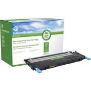 Sustainable Earth by Staples Remanufactured Cyan Toner Cartridge, Dell 1230 (330-3015, J069K)
