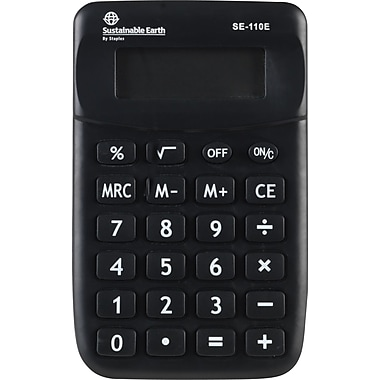 Staples® SE-110E Mini Display ECO Calculator