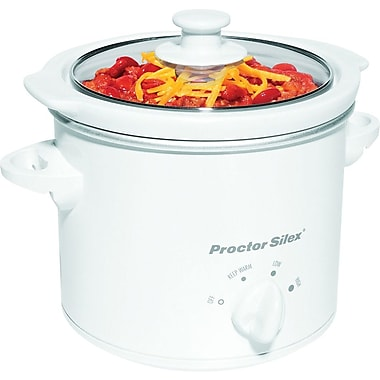 Hamilton Beach® 1.5-Quart Slow Cooker, White