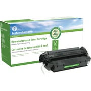 Staples® Sustainable Earth Reman Black Toner Cartridge, Canon X25 (SEBX25R)