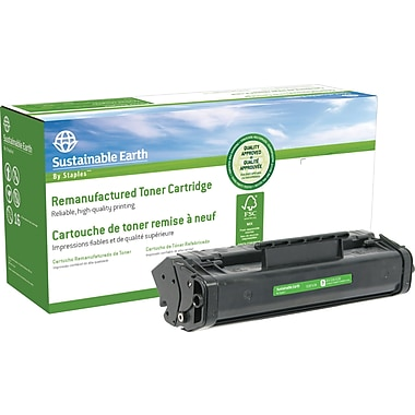 Sustainable Earth by Staples Reman Black Toner Cartridge, Canon FX-3 (SEBFX3R)